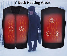 Load image into Gallery viewer, USB Heated Outdoor Vest