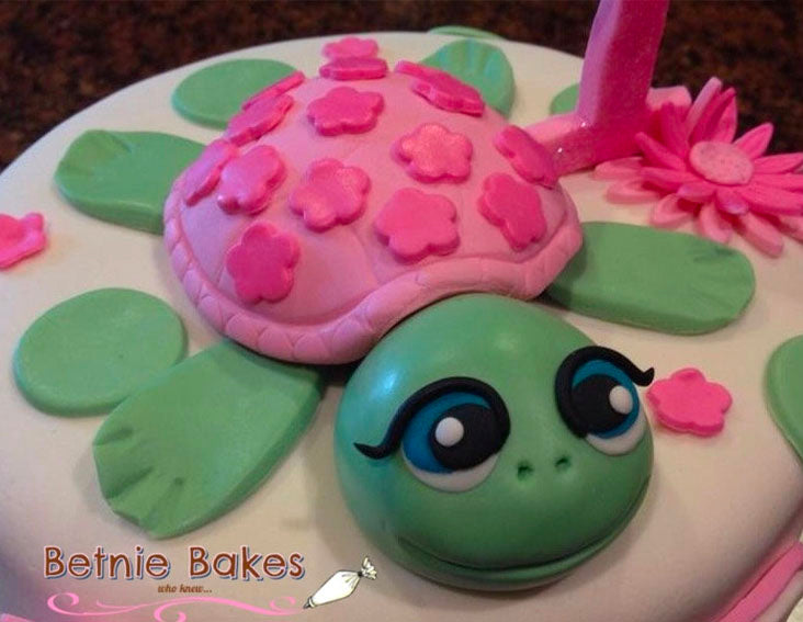 Sea Turtle Cake Topper