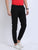 JDC Casual Solid Jogger Trouser - Black
