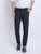 JDC Men Navy Blue Solid Trouser