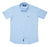 JDC Boy's Light Blue Printed Shirt