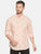 MEN'S PEACH PRINT SLIM FIT SHIRT
