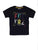 BOY'S BLACK PRINT REGULAR FIT T.SHIRT