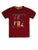 BOY'S RED PRINT REGULAR FIT T.SHIRT