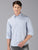 MEN'S BLUE PRINT SLIM FIT SHIRT