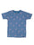 BOY'S BLUE PRINT REGULAR FIT T.SHIRT