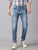 MEN'S LIGHT BLUE WASH SLIM FIT JEANS