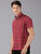 MEN'S RED CHECK SLIM FIT SHIRT
