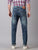 MEN'S BLUE FADED WASH SLIM FIT JEANS