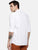 JDC Formal Solid shirts-White
