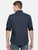 MEN'S NAVY BLUE PRINT SLIM FIT SHIRT