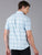 MEN'S BLUE CHECK SLIM FIT SHIRT