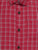 BOY'S PINK CHECK SLIM FIT SHIRT