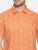 MEN'S TANG ORANGE PRINT SLIM FIT SHIRT