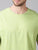 MEN'S MINT GREEN SOLID SLIM FIT T.SHIRT