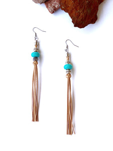 NEW Colour Lola Beaded Tassel Earrings