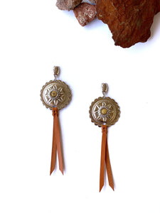 NEW Colours Conchita Concho Tassel Earrings - Also Available as a Set