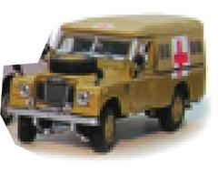 Land Rover Ambulance Desert