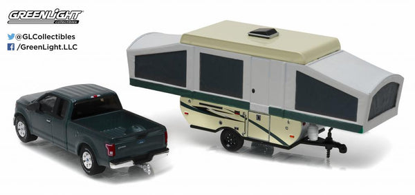 2015 Ford F-150 and Pop-up Camper