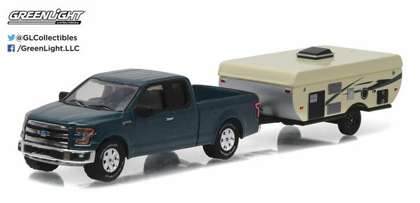 Ford F-150 and Pop-up Camper