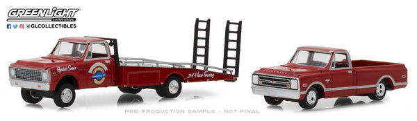 1971 Chevy C-30 Ramp Truck with 1968 Chevy C-10