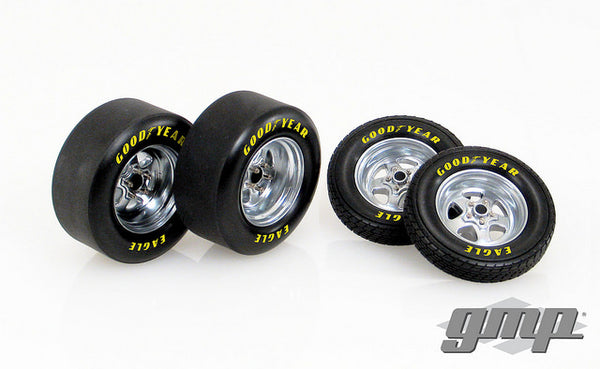 1320 Drag Wheel and Tire Pack