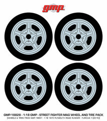 Street Fighter Mag Wheel and Tyre Pack