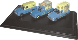 Walls Ice Cream Set (Ford Anglia Vans)
