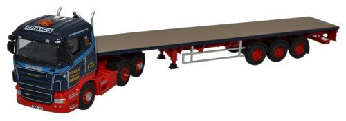 Scania Highline Flatbed Trailer