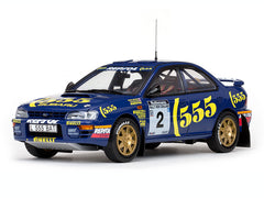Subaru Impreza  555: #2 C McRae/D Ringer - Winner 1994 Rally of NZ