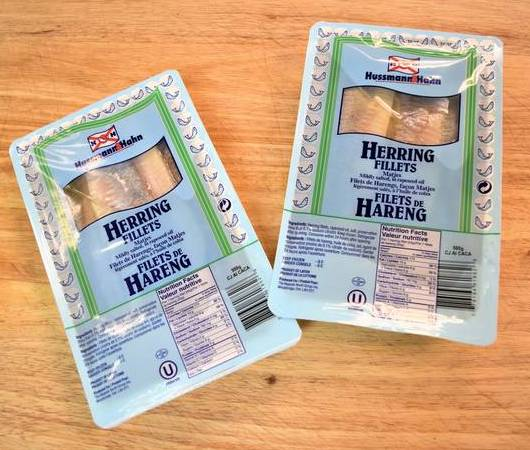 H&H Matjes Herring in Oil 500g