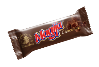 """Magija"" Cream Cheese Bar w/ Cocoa & Choc pieces 45g-20/cs"