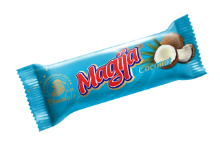 """Magija"" Cream Cheese Bar w/ Coconut 45g-20/cs"