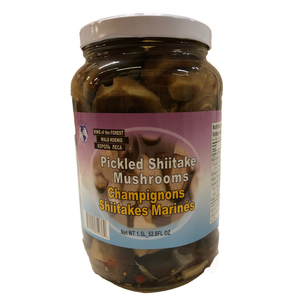 Pickled Shiitake Mushrooms 1.5Ltr