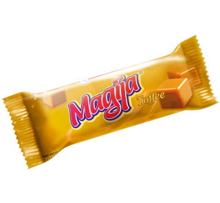 """Magija"" Vanilla Cream Cheese Bar w/ Toffee Glaze 45g-20/cs"