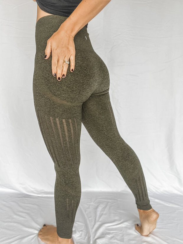 High Waisted Flash Leggings