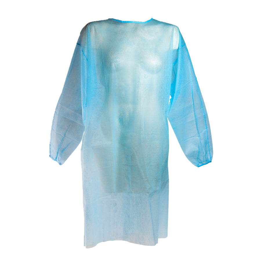 image of industrial isolation gown