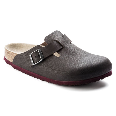 BIRKENSTOCK BOSTON PELLE MARRONE