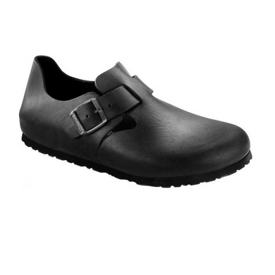 BIRKENSTOCK LONDON PELLE NERO