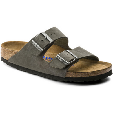 BIRKENSTOCK ARIZONA BRUSHED EMERALD GREEN