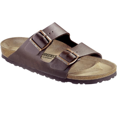 BIRKENSTOCK ARIZONA MARRONE BIRKO-FLOR