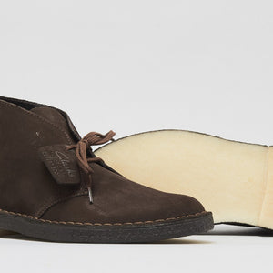 CLARKS POLACCO DESERT BOOT BROWN