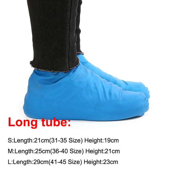 Reusable Accessories Waterproof Covers Latex Rain Shoes Overshoes Boot  Rubber