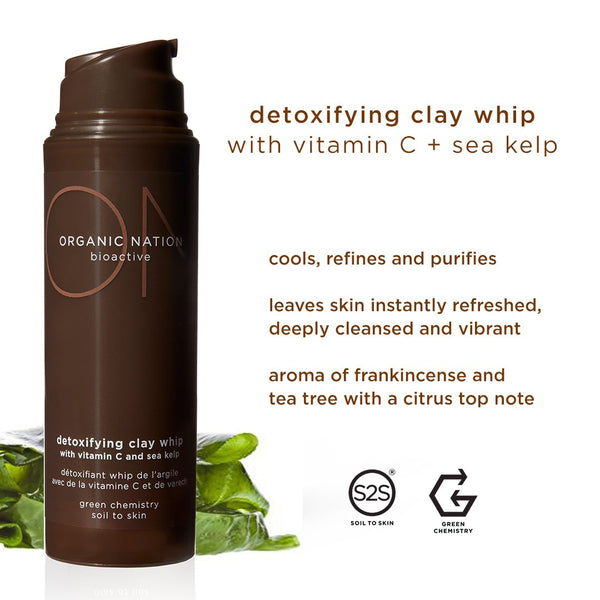 DETOXIFYING CLAY WHIP