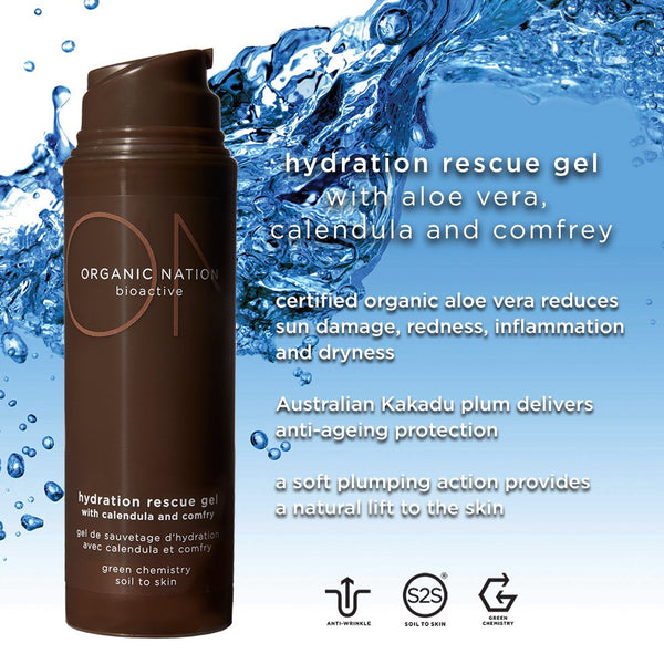 HYDRATION RESCUE GEL WITH CALENDULA AND COMFREY