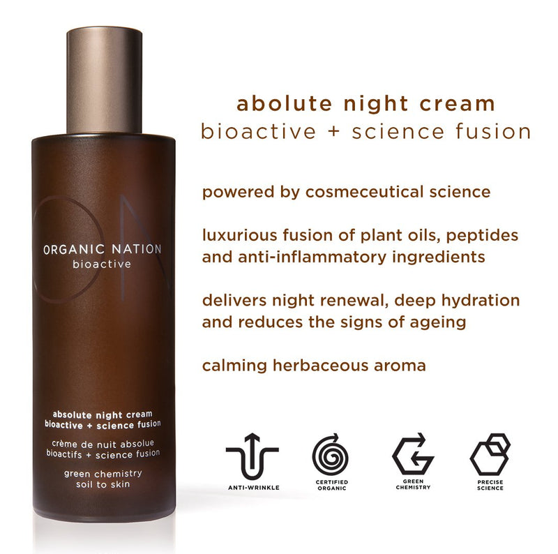 ABSOLUTE NIGHT CREAM BIOACTIVE + SCIENCE FUSION