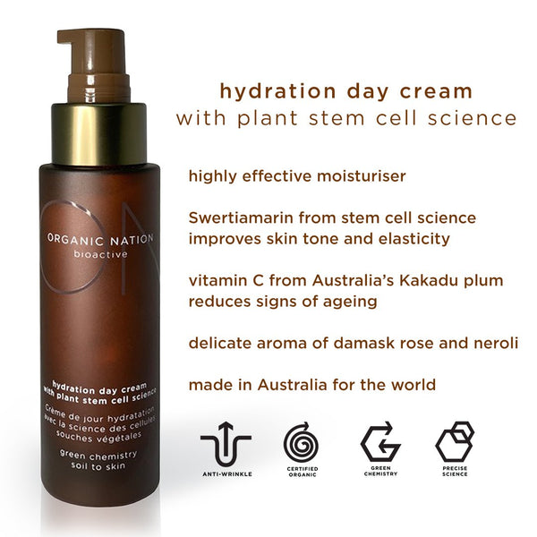 HYDRATION DAY CREAM WITH PLANT STEM CELL SCIENCE