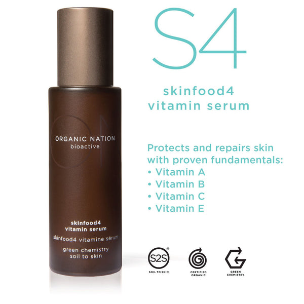 SKINFOOD4 VITAMIN ANTI-AGEING SERUM