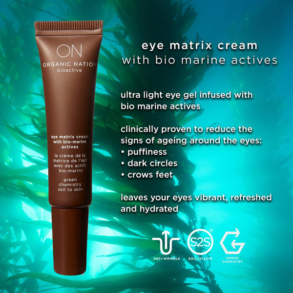 ANTI-AGEING EYE MATRIX CREAM WITH MARINE BIO ACTIVES