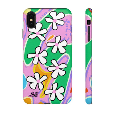 Groovy Blossom Shock Case